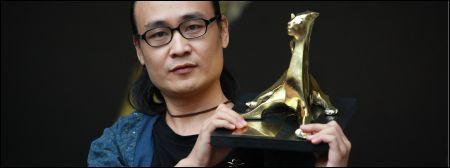Li Hongqi mit dem goldenen Leoparden  © Festival del film Locarno / Abram