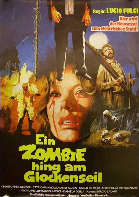 Poster Zombie Glockenseil