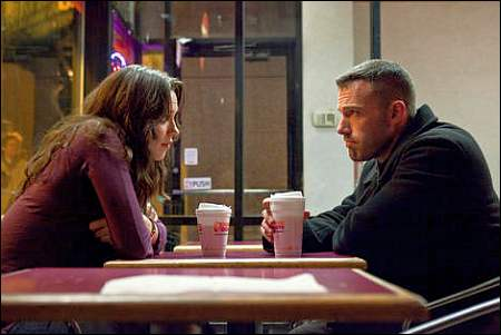 Rebecca Hall und Ben Affleck in 'The Town' ©Warner