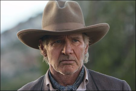 Harrison Ford in 'Cowboys & Aliens' ©2011 Universal Studios