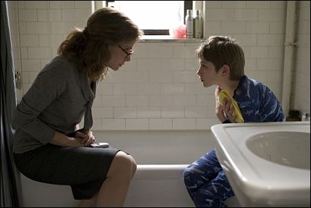 'Extremely Loud & Incredibly Close': Sandra Bullock und Thomas Horn ©Warner Bros