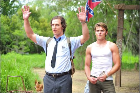 Matthew McConaughey, Zac Efron