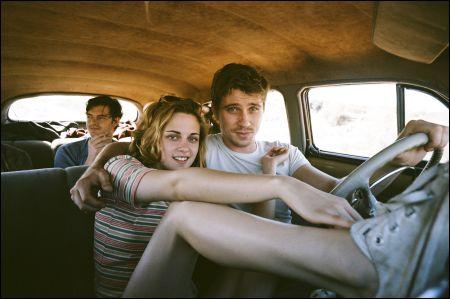 Sam Riley, Kristen Stewart, Garrett Hedlund