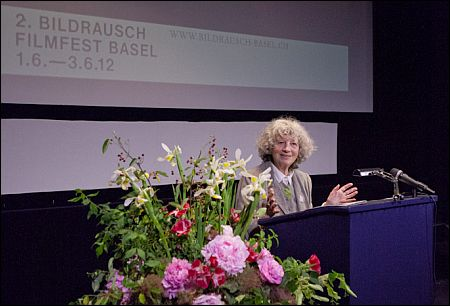 Ulrike Ottinger am Basler Bildrausch ©biondopictures.com