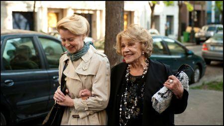 Laine Mägi und Jeanne Moreau