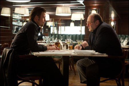 Brad Pitt und James Gandolfini in 'Killing Them Softly' ©ascot-elite