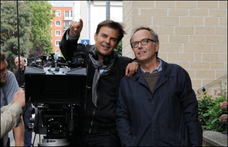 François Ozon dreht mit Fabrice Luchini 'Dans la maison' ©filmcoopi