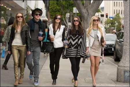 Emma Watson (Mitte) und ihre Mitstreiterinnen