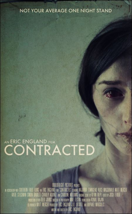 CONTRACTED AFFICHE