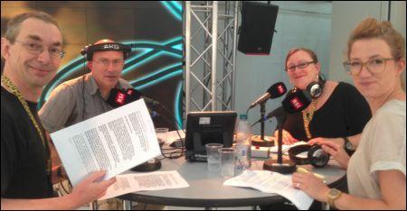 Michael Sennhauser, Eric Facon, Brigitte Häring, Valérie Wacker © Christian Gebhard
