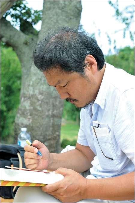 Regisseur Hong Sangsoo