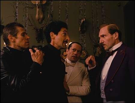 Willem Dafoe, Adrien Brody, Mathieu Amalric, Ralph Fiennes © 2013 Twentieth Century Fox