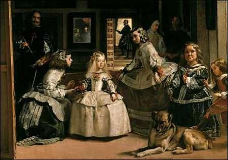 'Las Meninas' von Diego Velázquez (Ausschnitt) © Prado Madrid