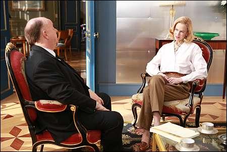 Roger Ashton-Griffiths als Hitchcock mit Grace Kelly (Nicole Kidman) © Ascot-Elite