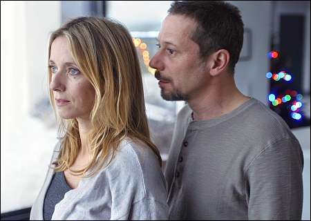 Léa Drucker, Mathieu Amalric © look now