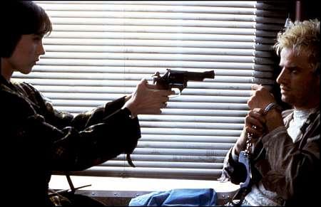 Isabelle Adjani und Christopher Lambert in 'Subway' von 1985