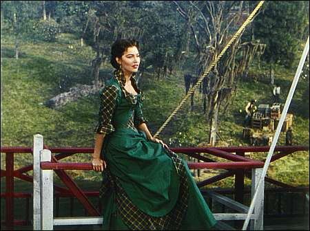 Ava Gardner in Showboat 1951 Quelle George Eastman House Rochester © 1951 Turner Entertainment Co