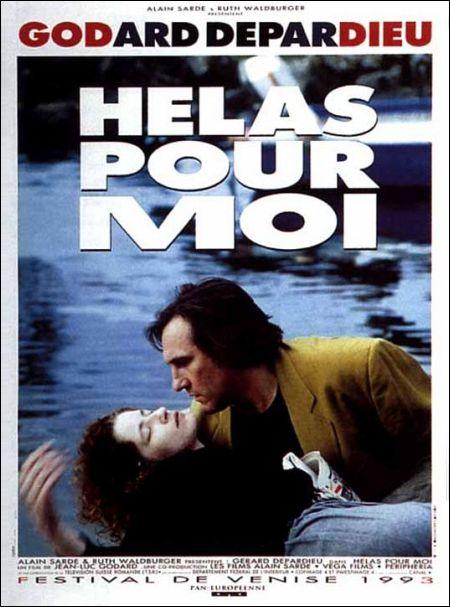 Poster Hélas pour moi Godard