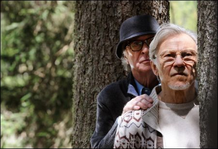 Michael Caine und Harvey Keitel in 'Youth' von Paolo Sorrentino