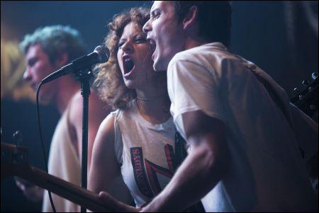 Imogen Poots und Anton Yelchin in 'Green Room' © Westend Films