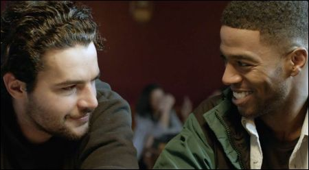 Christopher Abbott und Scott Mescudi