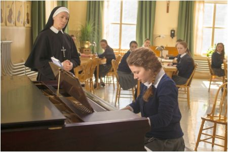Céline Bonnier und Lysandre Ménard in 'La passion d'Augustine' © filmcoopi