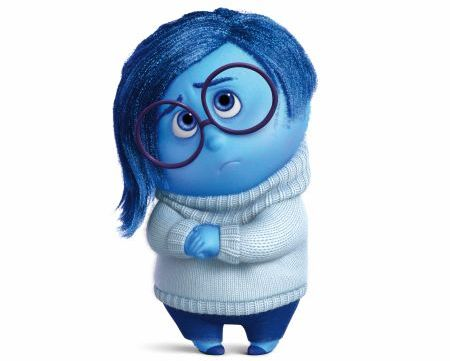 'Inside Out': Sadness (Die Traurigkeit) © Disney