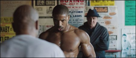 Michael B. Jordan und Sylvester Stallone in 'Creed' © Warner Bros