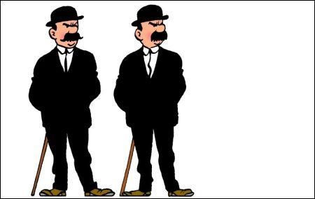 Dupont et Dupont von Hérgé (Tintin)