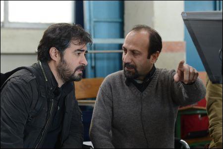 Shahab Hosseini und Asghar Farhadi © frenetic