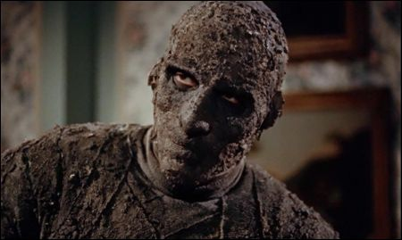 Christopher Lee als 'The Mummy' im Hammer-Film von 1959