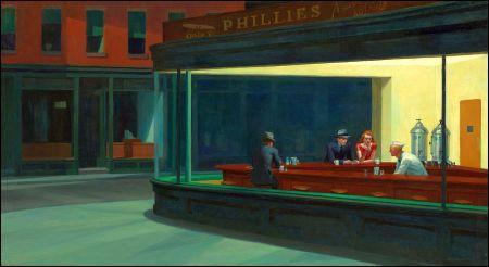 «Nighthawks» von Edward Hopper