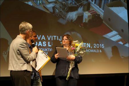 Eva Vitija und ihr Produzent Daniel Howald © sennhauser