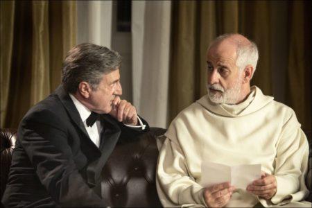 Daniel Auteuil und Toni Servillo in 'Le confessioni' © xenix