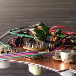 Wilkinson Single Coil Pickup Wiring Diagram For Panasonic Car Radio Ssh Pickguard Pickups  Half Out Of Phase
