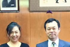 和泉市長に近況報告