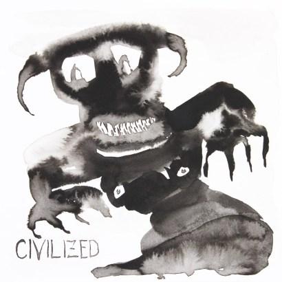<em>Untitled</em>, 2016, ink on paper, 8 x 8 in.