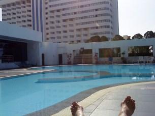 Jag vid poolen. (3)