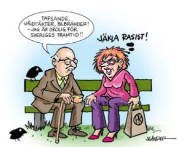 Jeander Jävla rasist