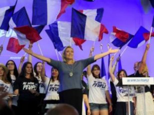 Marie Le Pen peuple