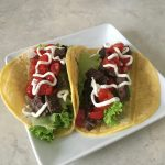 Mojo Skirt Steak Tacos
