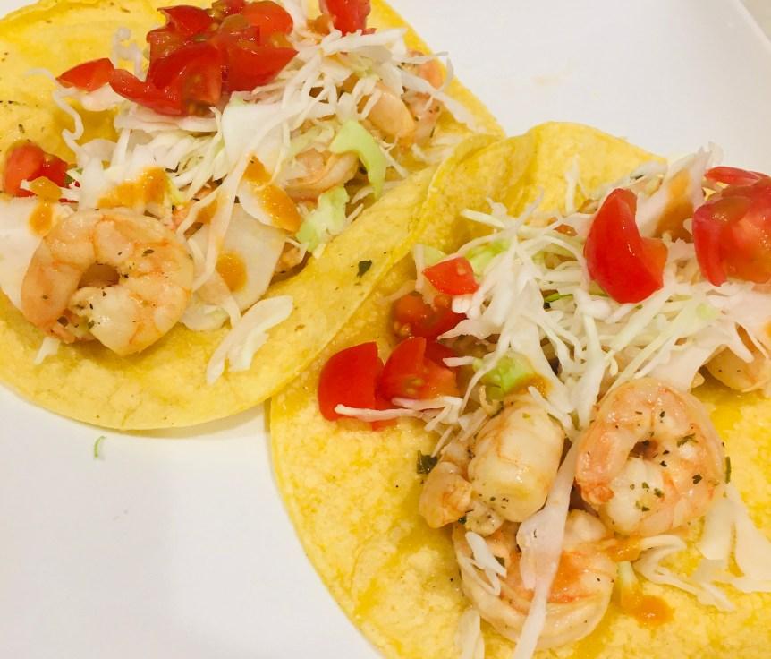 Mojo Shrimp Tacos