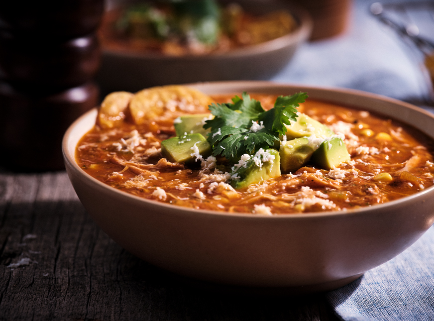 Senor Pepes Chicken Tortilla Soup