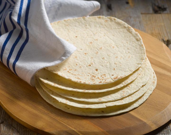 8˝ flour tortillas