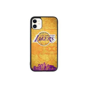 LA Lakers Yellow and Purple case