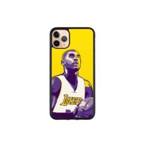 Yellow and Purple Kobe Case
