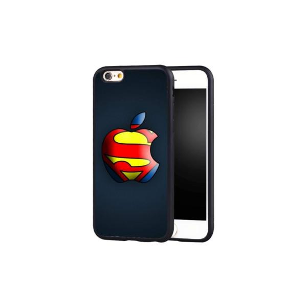 Superman Apple Logo Case