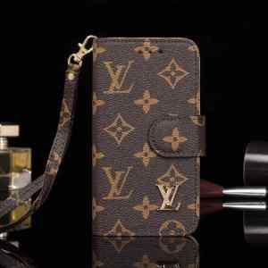 LV Wallet Case Brown