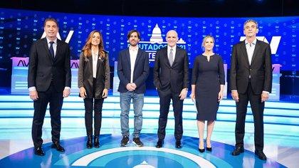 Santilli y Tolosa Paz monopolizaron un debate sin ganadores ni consecuencias políticas en la campaña de Buenos Aires