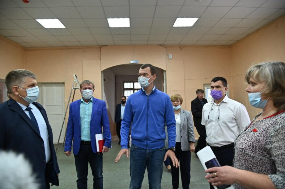 Дегтярев отправил в отставку главу Минздрава Хабаровского края
